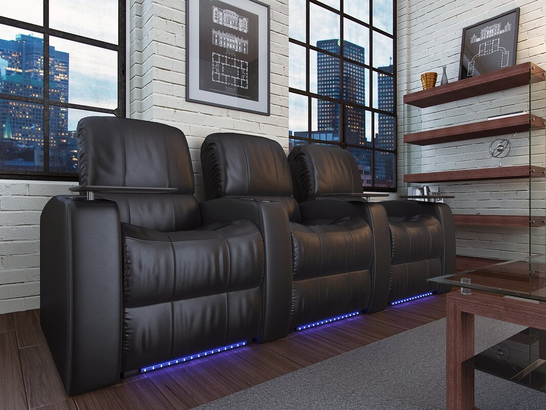 Home Theater Recliner (Row of 3) & Latitude Run Home Theater Recliner (Row of 3) u0026 Reviews | Wayfair islam-shia.org