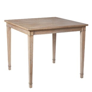 marie counter table - Square Wood Dining Table
