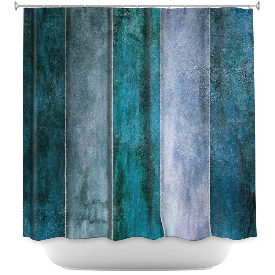 East Urban Home Water Shower Curtain