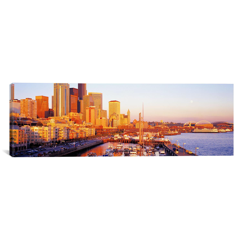 East Urban Home 'Seattle, Washington' Photographic Print