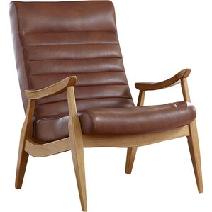 modern leather accent chairs | allmodern