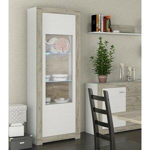 Garzon 1 Door Curio Cabinet by Brayden Studio