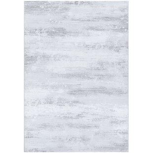 Light Gray And White Area Rug Wayfair