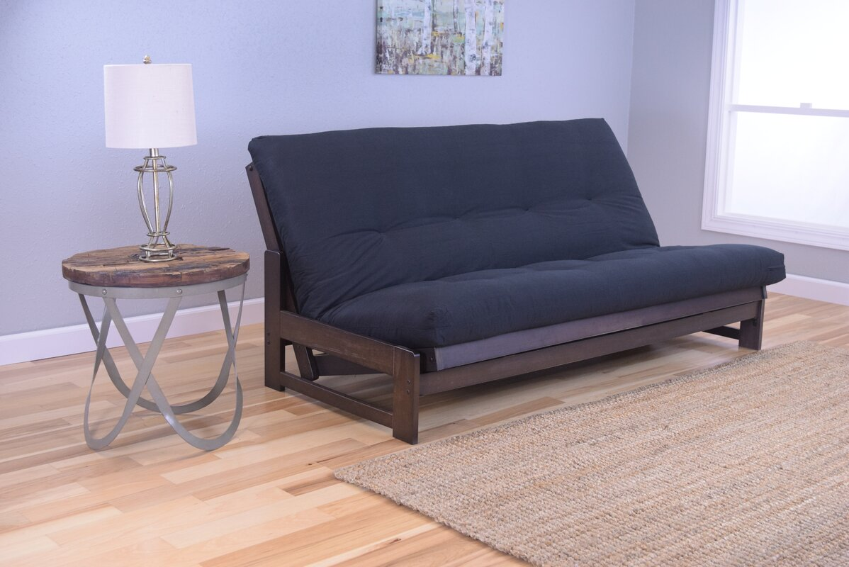 aspen futon and mattress kodiak furniture aspen futon and mattress  u0026 reviews   wayfair  rh   wayfair