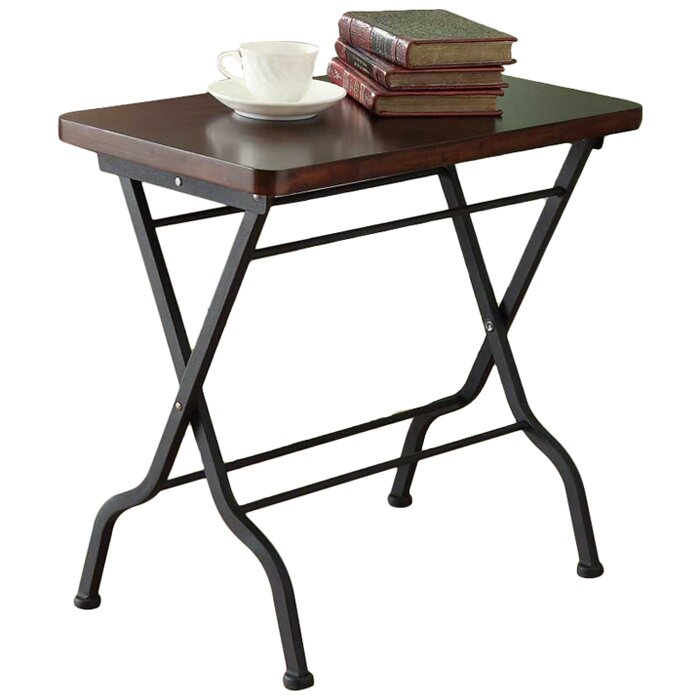 Monarch specialties inc folding end table reviews wayfair folding end table watchthetrailerfo