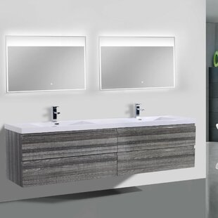 Modern Contemporary Inch Vanity AllModern - 84 bathroom vanities and cabinets