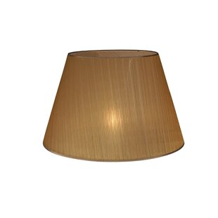 Brown table floor lamp shades wayfair 60cm suite organza empire lamp shade aloadofball Choice Image