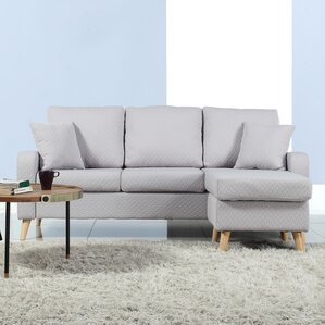 Northville Reversible Sectional : gray sectional with chaise - Sectionals, Sofas & Couches