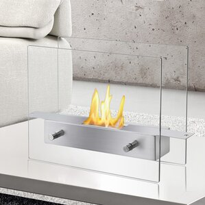 Tab Ventless Bio Ethanol Tabletop Fireplace