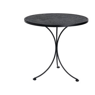 Mesh Top Wrought Iron Dining Table