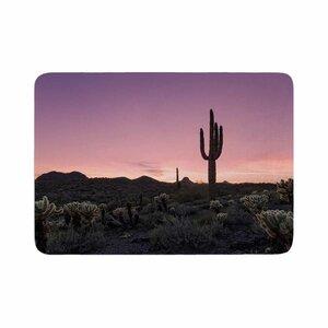 Tucson Sunset Tags Memory Foam Bath Rug