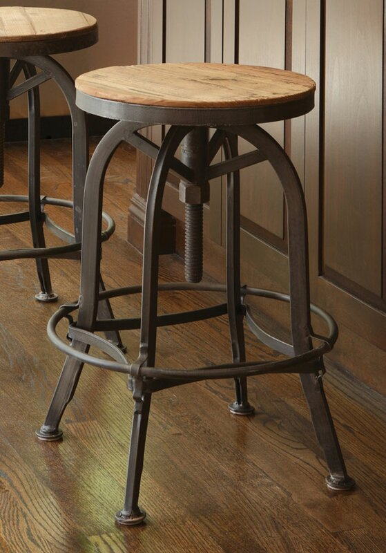 Trent Austin Design Southbridge Adjustable Height Swivel Bar Stool u0026 Reviews | Wayfair & Trent Austin Design Southbridge Adjustable Height Swivel Bar Stool ... islam-shia.org