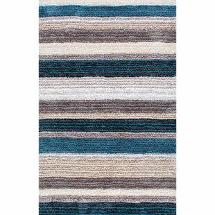 Blue White Striped Rugs You Ll Love Wayfair