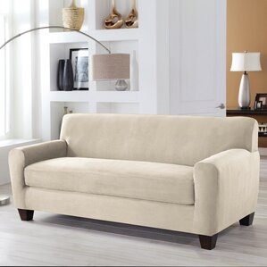 Red Barrel Studio Box Cushion Sofa Slipcover