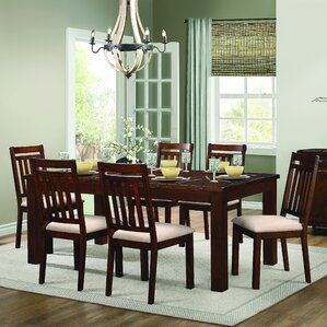 Curacao 7 Piece Dining Set by Loon Peak