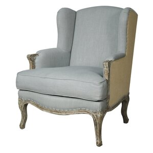 Marie Wingback Chair by New Pacific Direct
