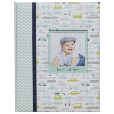 Harriet Bee Baby Boy S First Year Milestone Memory Photo Album Wayfair