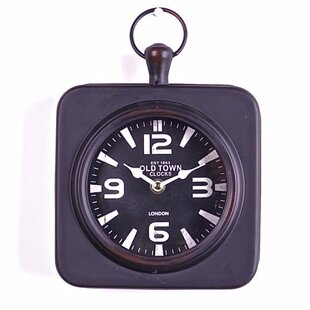 Kip Old Town Clocks London Metal Wall Clock