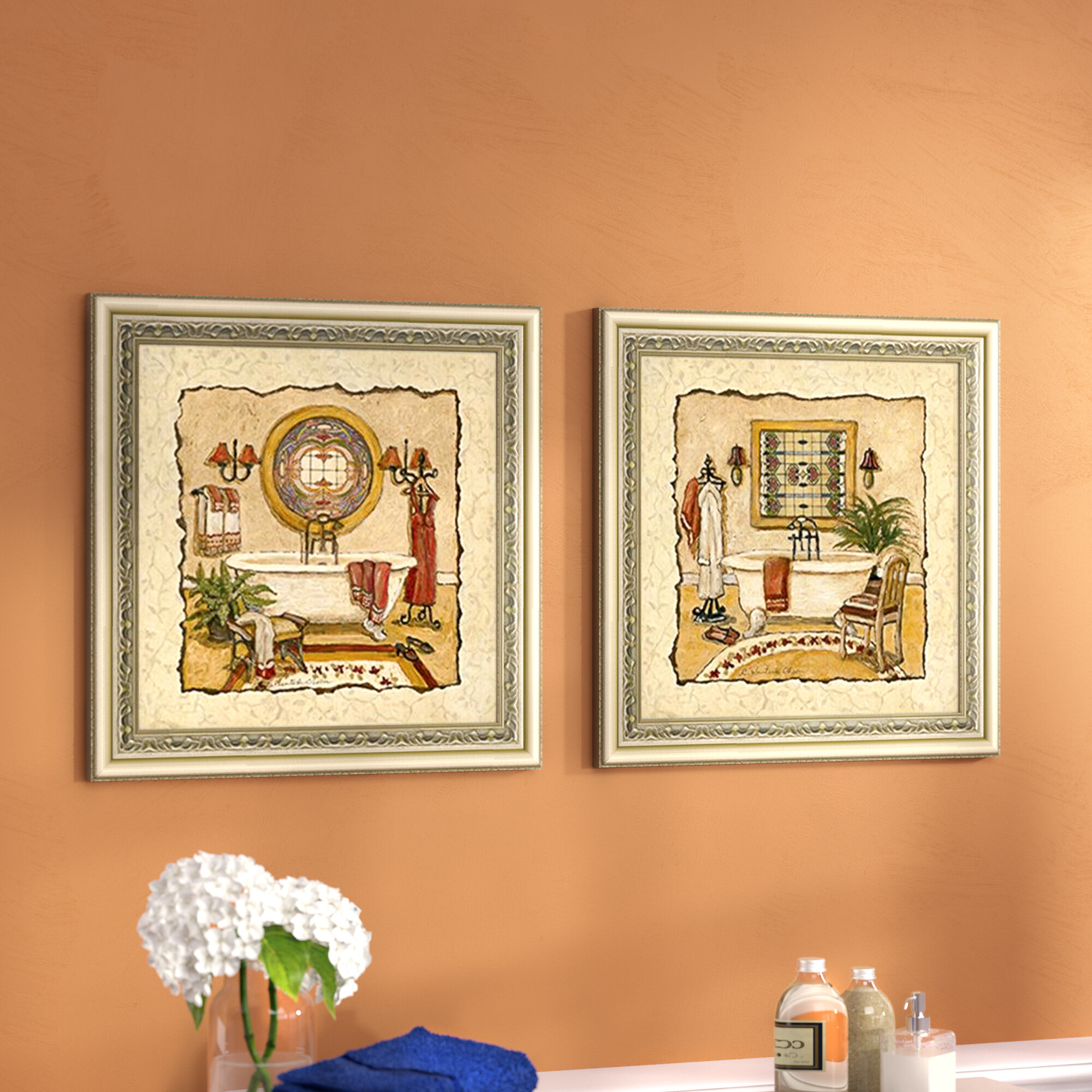 Famous Framed Wall Art For Bathrooms Photos - The Wall Art ...