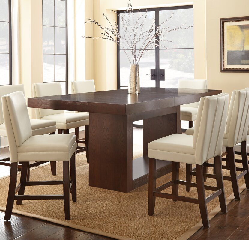 Tall Dining Room Tables awesome tall dining room tables pictures - interior design ideas