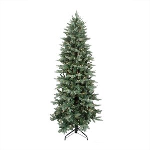 12 washington frasier fir slim artificial christmas tree with clear lights - 12 Artificial Christmas Tree
