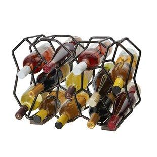 Ubix 12-Bottle Tabletop Wine Rack