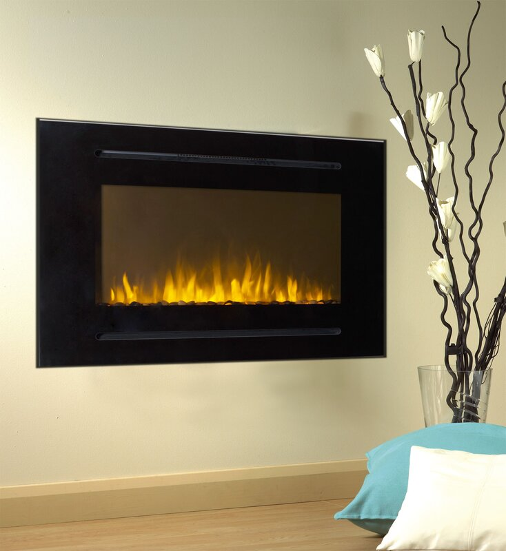 Touchstone Forte Wall Mount Electric Fireplace & Reviews | Wayfair