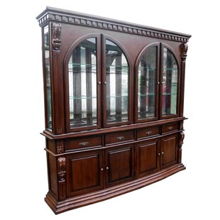 Sheraton Lighted China Cabinet