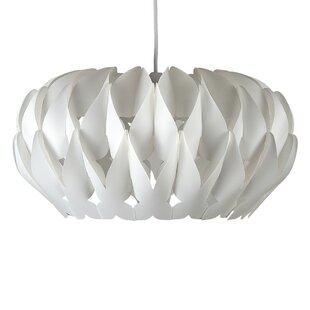 Ceiling lamp shades wayfair 42cm arena plastic oval pendant shade aloadofball Images