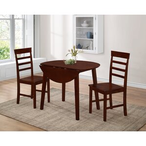 Griggsville 3 Piece Dining Set by Alcott Hill
