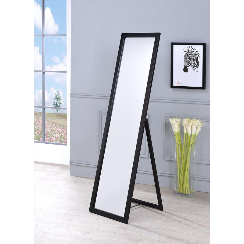 Kissel Full Length Rectangle Stand Mirror