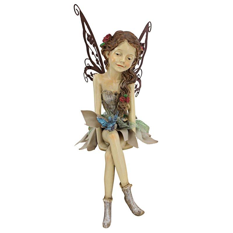 Fannie, the Fairy Sitting Statue