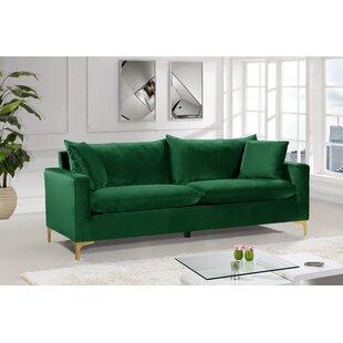 Modern & Contemporary Olive Green Sofa | AllModern