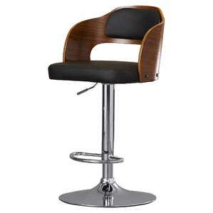 Elida Adjustable Height Swivel Bar Stool by Latitude Run