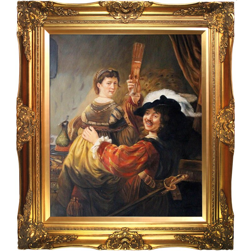 Tori Home Rembrandt and Saskia in the Parable of the ...