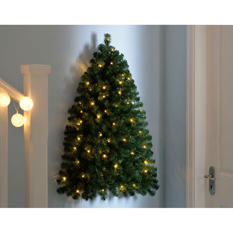 Wall Mounted Christmas Trees