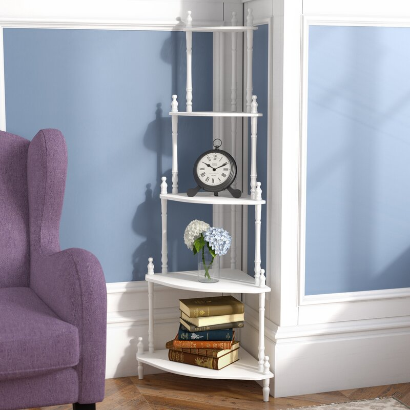 Wow 23 Space Saving Corner Breakfast Nook Furniture Sets: Charlton Home Ogden Corner Unit Bookcase & Reviews
