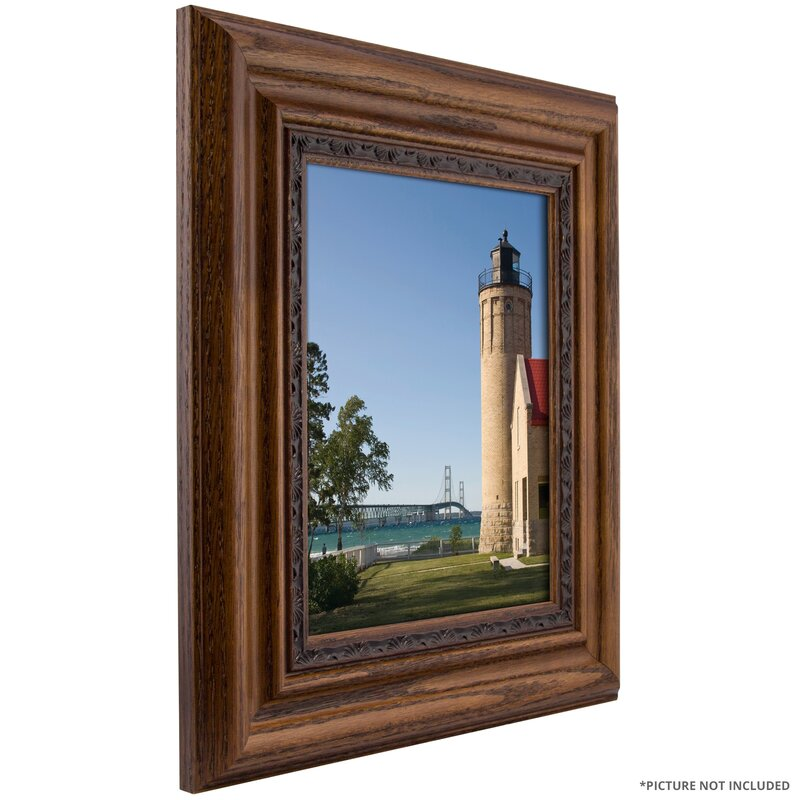 275 wide charmain real wood distressed picture frame poster frame - Wood Poster Frame