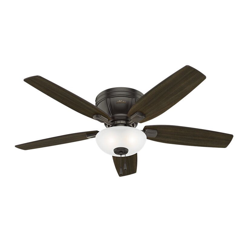 """Hunter 52 Contemporary Ceiling Fan 3 Coffee Blades: Hunter Fan 52"""" Kenbridge 5 Blade Ceiling Fan & Reviews"""