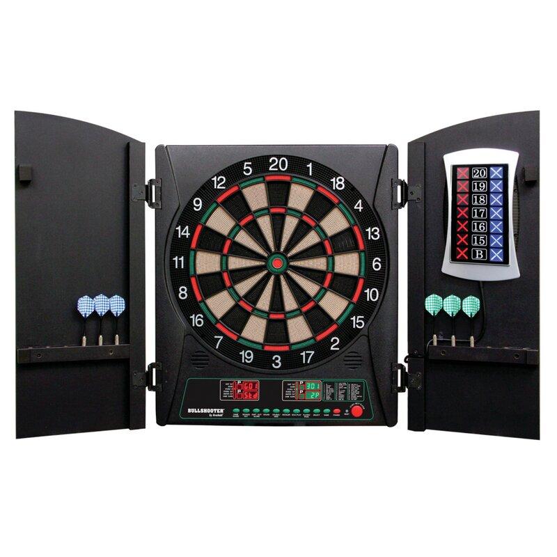 Arachnid Cricketmaxx 3 Piece 1.0 Electronic Dartboard Cabinet Set ...
