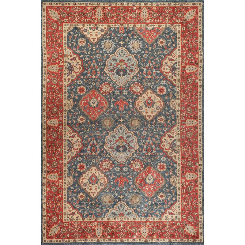 Darby Home Co Alto Red Blue Area Rug Amp Reviews Wayfair