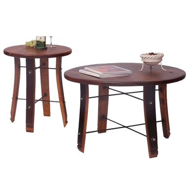 Red Wood Round Coffee Table Sets You Ll Love In 2019 Wayfair