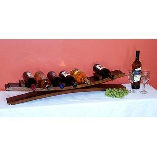 7 Bottle Tabletop Wine Bottle Rack