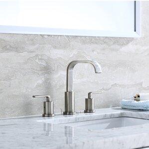 bathroom faucets. Contemporary Widespread Handle Bathroom Faucet Faucets You ll Love  Wayfair
