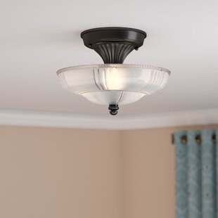 ceiling mount light fixture. Antioch 3-Light Semi Flush Mount Ceiling Light Fixture T