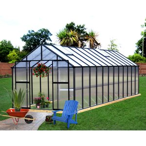 Monticello 8 Ft. W x 24 Ft. D Greenhouse