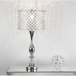 Crystal Table Lamps Youll Love Wayfair - Chandelier table lamps crystals
