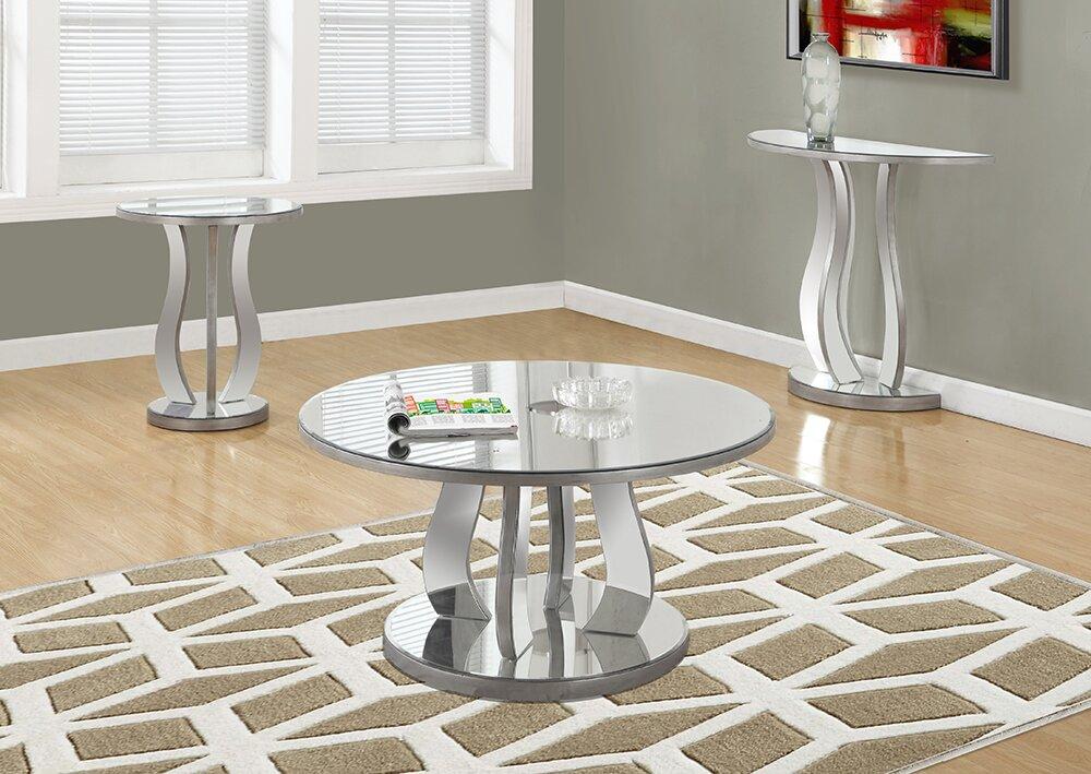 Tenafly 3 Piece Coffee Table Set
