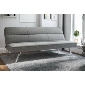 Novogratz Leyla Convertible Sofa & Reviews   Wayfair