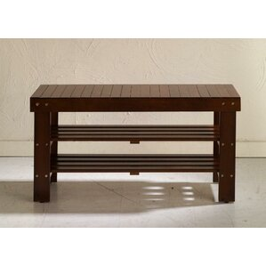 Wonderful Wood Storage Bench